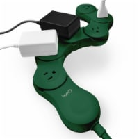 Quirky Pivot Power Extention Strip - Forest Green - 1 ct