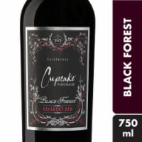 Cupcake Black Forest Decadent Red Wine