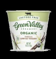 Green Valley Organic Lactose Free Vanilla Lowfat Yogurt
