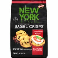 New York Style Cinnamon Raisin Bagel Crisps