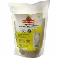 Chettinad Pearled (Unpolished) Brown Top Millet - 2 Lb - 1 unit