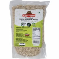 Chettinad Pearled (Unpolished) White Sorghum Millet - 2 Lb - 1 unit