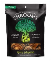 Shrooms Spicy Jalapeno Flavored Crispy Mushroom Snack
