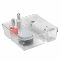 iDesign Clarity Vanity Multi-Organizer - Clear