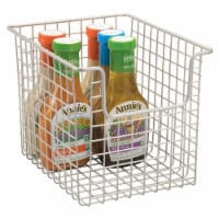 InterDesign Classico Open Wire Basket - Satin