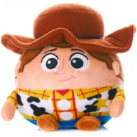 Cuddle Pal Stuffed Animal Plush Toy Mini with Jingle, Disney Baby Toy Story Woody, 4.5 Inches - 1