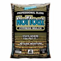 No Float Earthtone Cypress Blend Mulch 2 cu. ft. - Case Of: 1 - Count of: 1