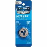 Century Drill & Tool 4.0x0.75 NPT 1  Across Flats Hexagon Pipe Die 97605 - 1