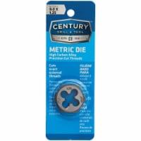 Century Drill & Tool 9.0x1.25 NPT 1  Across Flats Hexagon Pipe Die 97613 - 1
