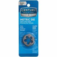 Century Drill & Tool 12.0x1.75 NPT 1  Across Flats Hexagon Pipe Die 97619 - 1