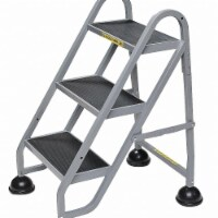 Stop-Step Mobile Step Stand,Beige,32-1/2  H  1030-19 - 1
