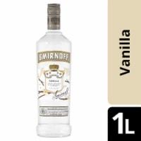 Smirnoff Vanilla Vodka - 1 L