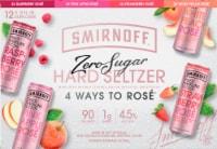 Smirnoff Raspberry Spiked Sparkling Seltzer Premium Malt Beverage