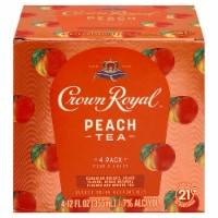 Crown Royal Peach Tea & Canadian Whisky Cocktail