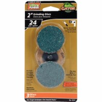Gator Surface 2 In. 35 Grit Grinding Surface Conditioning Sanding Disc (3-Pack) - 1
