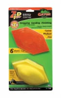 Gator  Zip  3 in. W x 6 in. L Assorted Grit Sanding Block Kit - Case Of: 1; Each Pack Qty: 6; - Count of: 1