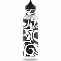 MightySkins BOKE12ST-Swirly Black Skin for BottleKeeper 12 oz Standard Wrap Cover Sticker - S