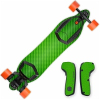 MightySkins BOOBORD-Lime Carbon Fiber Skin for 2nd Generation Boosted Board, Lime Carbon Fibe