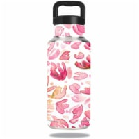 MightySkins OZBOT36-Pink Petals Skin for Ozark Trail Water 36 oz Bottle Wrap Cover Sticker -