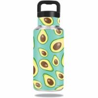 MightySkins OZBOT36-Seafoam Avocados Skin for 36 oz Ozark Trail Water Bottle, Seafoam Avocado