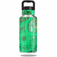 MightySkins OZBOT36-Vintage Paisley Skin for Ozark Trail Water 36 oz Bottle Wrap Cover Sticke