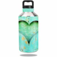 MightySkins OZBOT64-Heartwood Skin for Ozark Trail Water Bottle 64 oz Wrap Cover Sticker