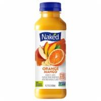 Naked Juice Orange Mango Smoothie 100% Flavored Juice Blend Drink