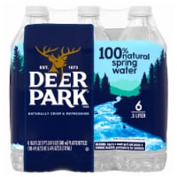 Deer Park Natural Spring Water 6 Count