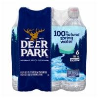 Deer Park Spring Water Case - 6 bottles / 23.7 fl oz