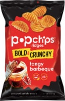 popchips Ridges Tangy Barbeque Popped Potato Snack