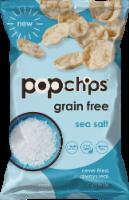 popchips Grain Free Sea Salt Popped Cassava Snack