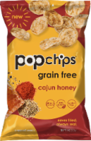 popchips Cajun Honey Popped Chip Snacks