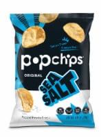 popchips® Sea Salt Potato Popped Chip Snack - 0.8 oz