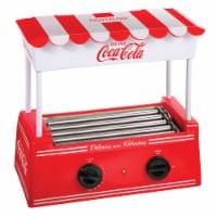 Nostalgia Coca-Cola Hot Dog Roller & Bun Warmer