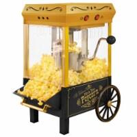 Nostalgia Kettle Popcorn Maker - Black