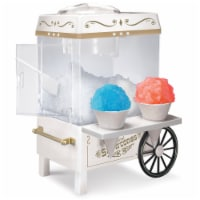 Nostalgia Snow Cone Maker - White
