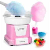 Nostalgia Retro Cotton Candy Maker - Pink/White