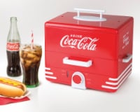 Nostalgia Large Coca-Cola Hot Dog Steamer
