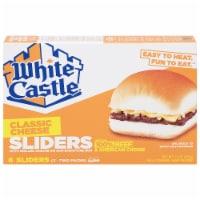 White Castle Cheeseburger Sliders 6 Count