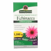 Nature Answer With Organic Echinacea Herb Herbal Supplement