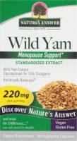 Natures Answer Wild Yam Root Vegetarian Capsules 220mg - 60 ct
