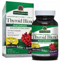 Nature's Answer Thyroid Blend Vegetarian Capsules