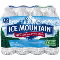 Ice Mountain Natural Spring Water 12 Count