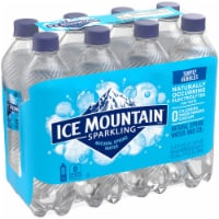 Ice Mountain Simply Bubbles Sparkling Water - 8 bottles / 16.9 fl oz