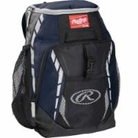 Rawlings R400-N Rawlings Players Backpack - Navy