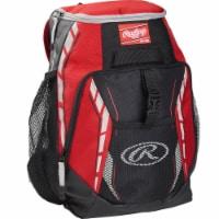 Rawlings R400-S Rawlings Players Backpack - Scarlet