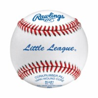Rawlings White Leather Baseball 9 in. 1 pk - Case Of: 12; Each Pack Qty: 1; - Case of: 12
