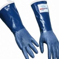 Daymark Steam Resistant Gloves,Blue, M,Rubber,PR  92143