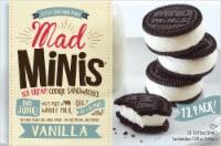 Mad Minis Vanilla Ice Cream Sandwich 12 Count - 12 ct