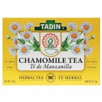 Tadin Manzanilla Chamomile Tea - 24 ct